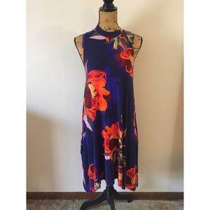 Anthropologie Maeve Floral Lilt Swing Dress